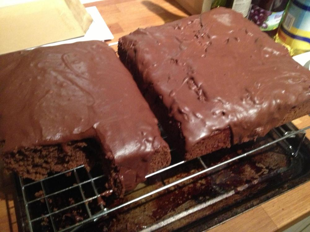 Mary Berry Chocolate Tray Bake Cake Recipe