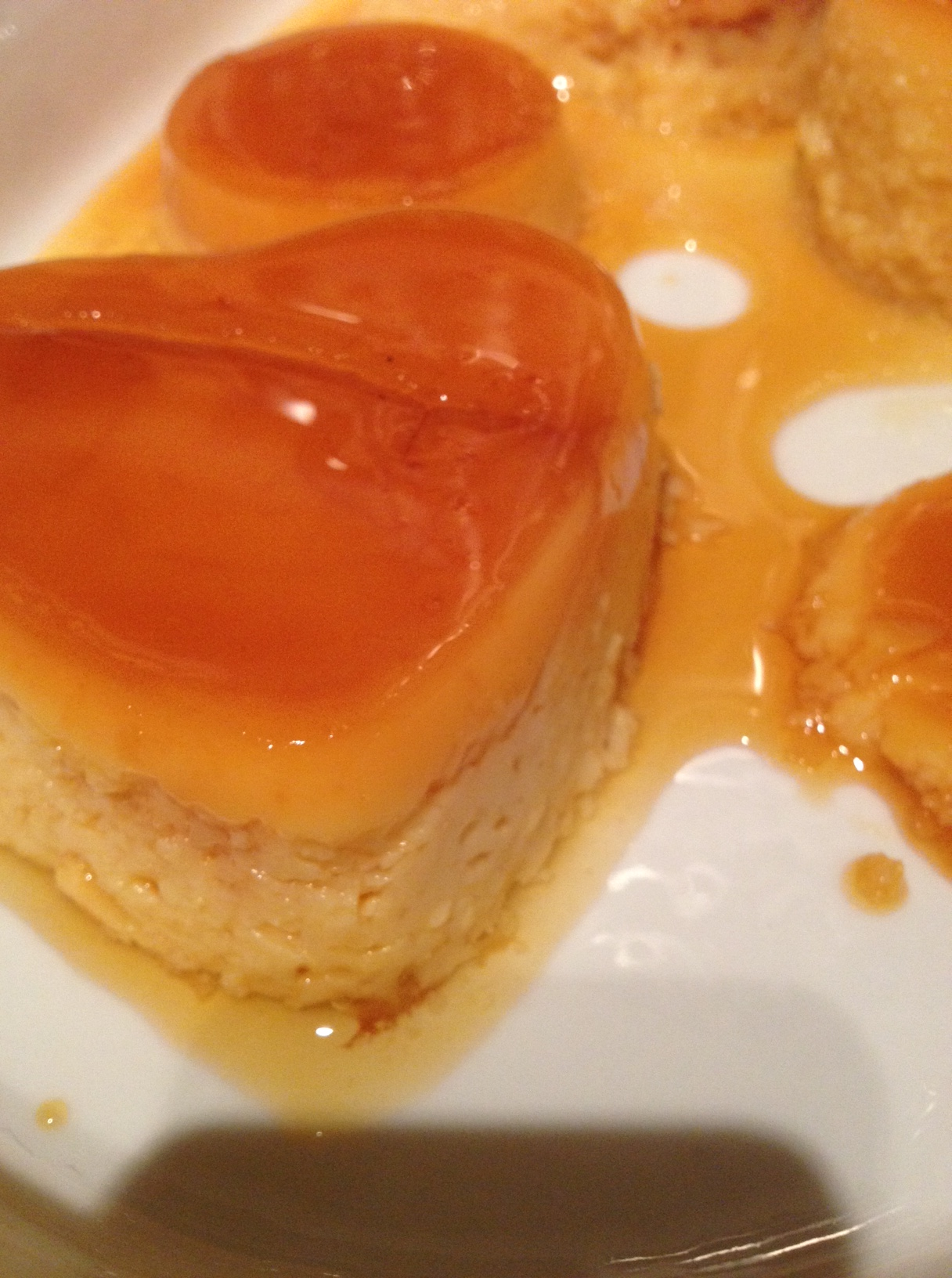 images Valencia Orange Flan