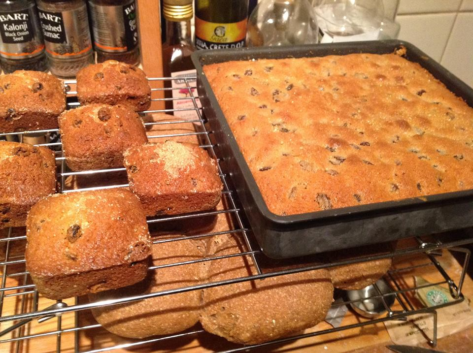 Mary Berry S Sultana And Orange Traybake What S In Season