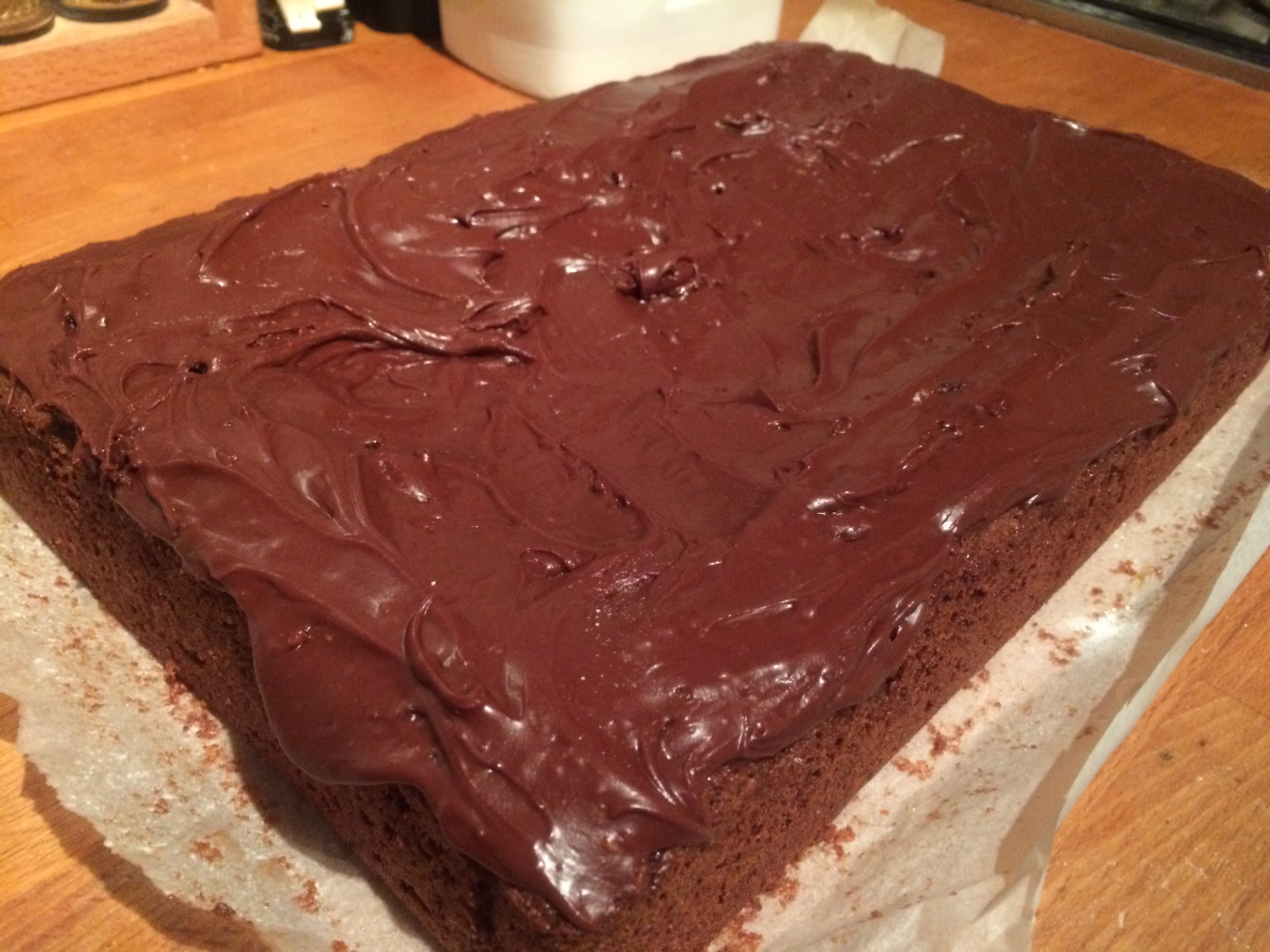 Chocolate tray bake cake recipe mary berry